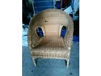 Wicker chair, CHILDS