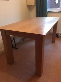 Oak Dining/kitchen table