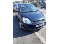 Ford fiesta 1.2L 3 door petrol 2005