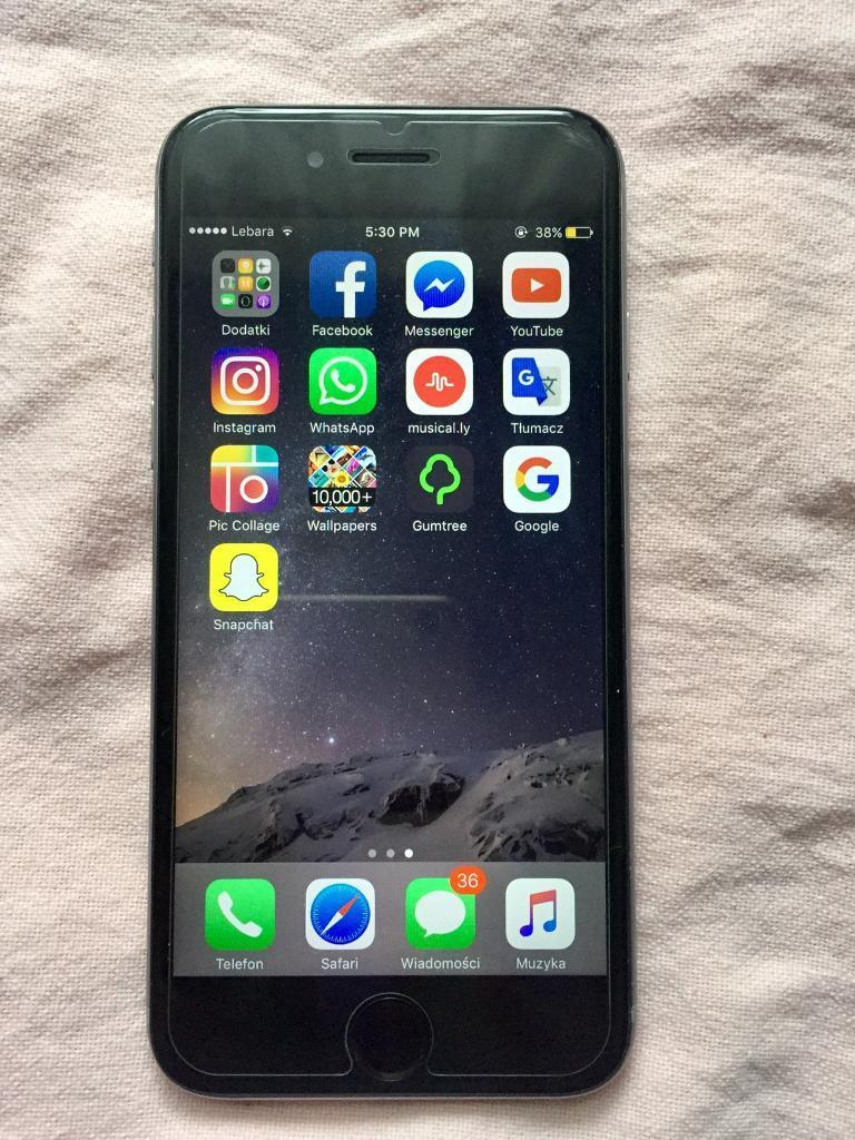 Iphone 6s 64GB space grey unlockedin Arnold, NottinghamshireGumtree - iPhone 6s Space Grey unlocked 64GBMint condition comes with charger Reason for sale upgrade for iPhone 7 For more info call or text