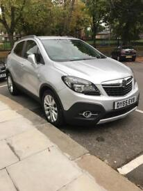 Vauxhall Mokka 2015 1.4 Turbo 4X4 4WD 16v Silver. Top Spec