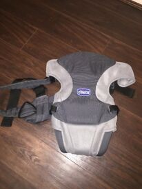 Chicco baby carrier grey