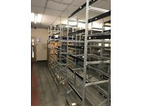 METAL INDUSTRIAL RACKING SHELVING NEW CONDITION