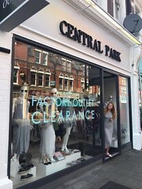 Sales Assistant Required for Central Park Ladieswear