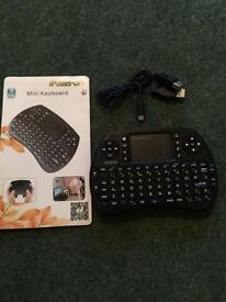 Mini Keyboard for use with tv