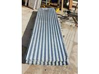18x Reclaimed corrugated roofing sheets