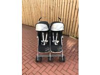 Maclaren Twin Techno pram & accessories