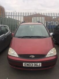 Ford galaxy people carrier MPV