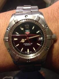 Tag heuer professional black face