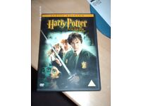 HARRY POTTER CHAMBER OF SECRETS DVD