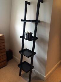 The Conran Shop ladder book case - black wood