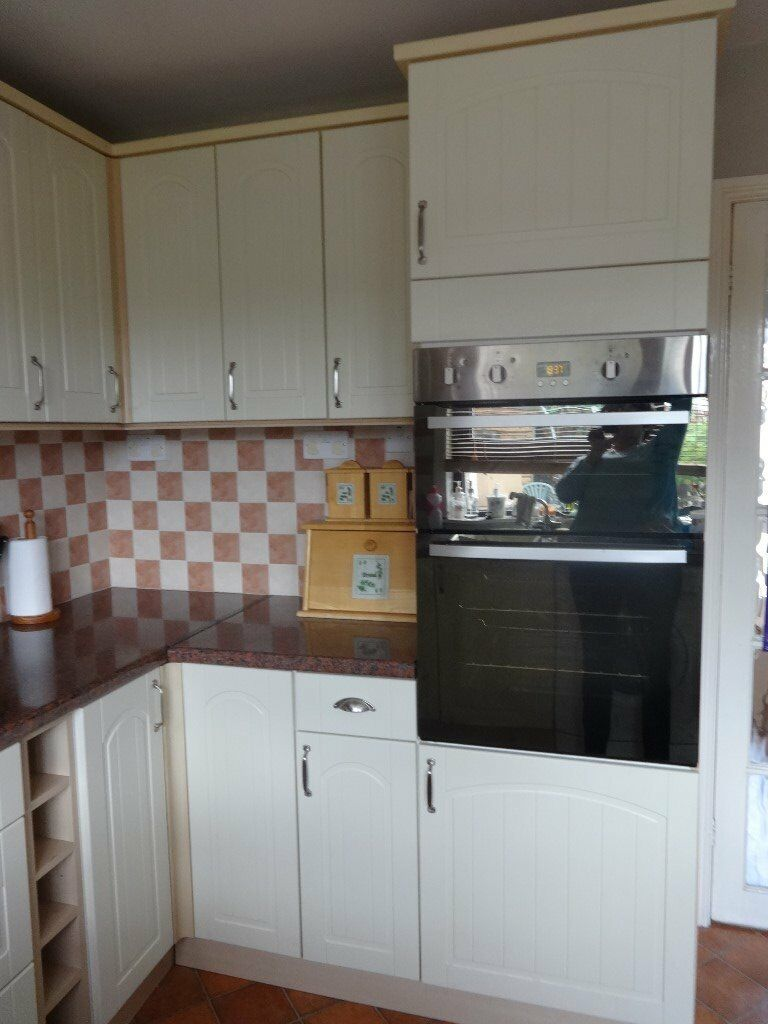 Wickes Kitchen Wall Cabinets Great Quality Wickes Oban Kitchen Cream Shaker Style 400 0no