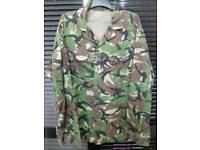 British army light weight combat suit