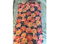 Cath Kidston blue floral scarf