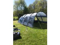 Outwell Whitecove 6 Tent (Front Extension, Carpet and Footprint included)