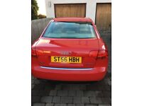 Audi A4 extremely low mileage , good condition