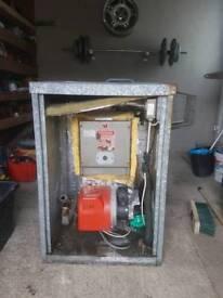 70/90 oil boiler