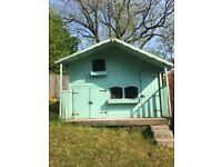 Kids playhouse with upstairs hideaway