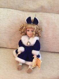 Collectors Porcelain Musical Doll