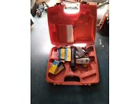 tacwise carry case n staples n pins 2 18v batteries n charger