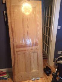 New Solid Pine Wooden Door