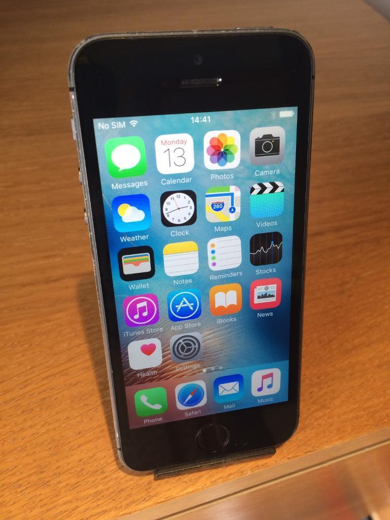 APPLE IPHONE 5S SPACE GREY 16GB VODAFONEin Barry, Vale of GlamorganGumtree - APPLE IPHONE 5S SPACE GREY 16GB. Comes with charger.Can be used on Vodafone/Lebara networks.The phone does have a few light scratches to the back but is in decent condition on the whole. Perfect working order. £100. No offers on price sorry....