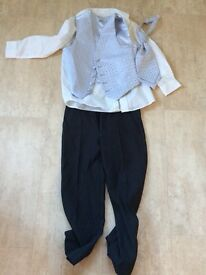 Boys age 6 wedding suit