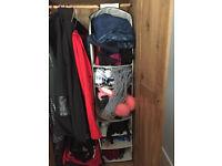 Hanging Shelves Wardrobe Organiser