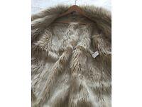 Ladies imitation sheepskin coat