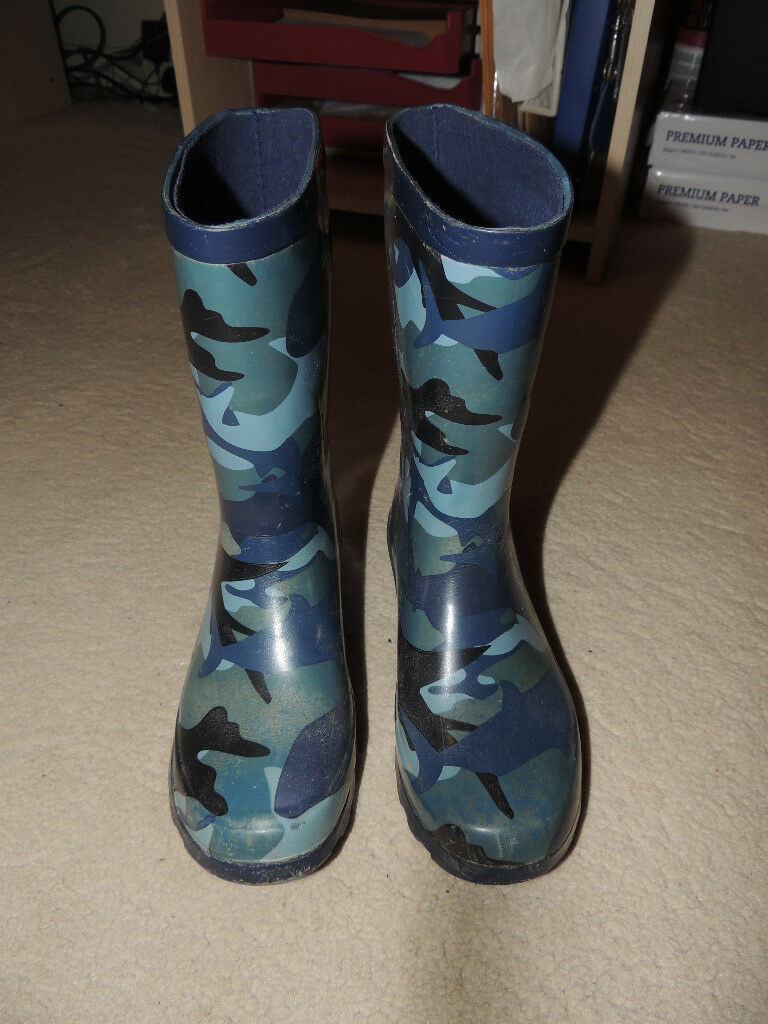 Boys Fat Face Wellies & Welly Liners