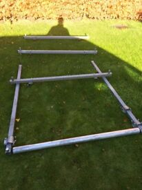 Saunders roof rack came of a vw caddy heavy duty can be adjusted for other models £80 ono