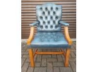 Chesterfield genuine leather Gainsborough chair. EXCELLENT CONDITION!BARGAIN!