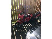 125cc Lexmoto Motorbike