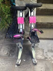 Poweriser Jump Stilts In Working Order, Only Used A Handful Of Times