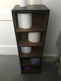 Brown leather storage thingy