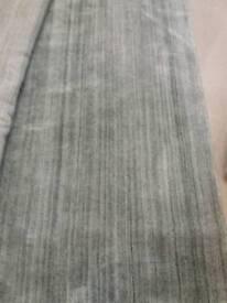 Light grey very soft rug
