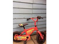 Kids bycycle 12inch wheel. Lightning McQueen Livery
