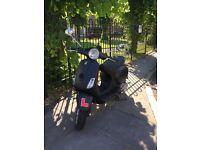 FOR SALE MATTE BLACK 2005 VESPA LX 125cc £899