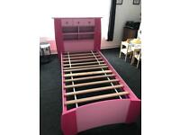 Single bed & storage