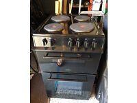 Belling freestanding 50 cm black electric cooker