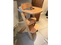 Safety First adjustable high chair