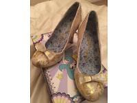 Gorgeous pair of ladies irregular choice high heels size 7 brand new