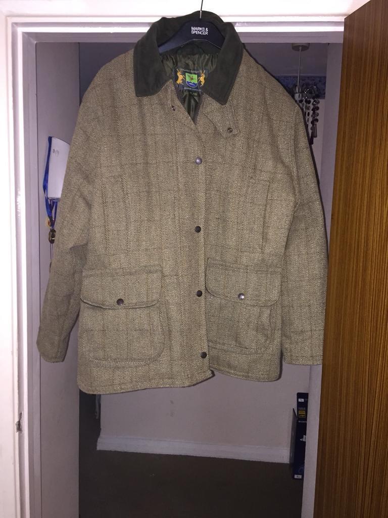 Ladies hunter outdoor tweed jacket 16/XL