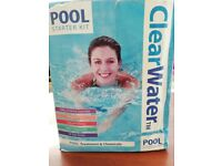 Pool starter kit can be used for lay z spa