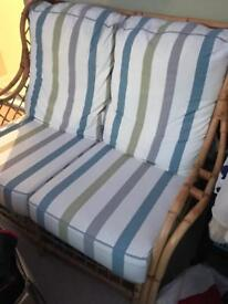 Conservatory chairs and sofa in excellent condition