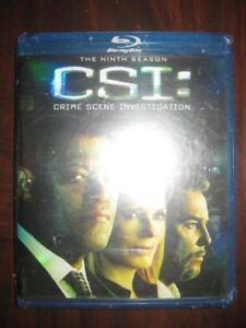 CSI: Crime Scene Investigation. The Ninth Season. Blu-Ray DVD. Gil Grissom. Dr Raymond Langston. Deleted Scenes. NEW