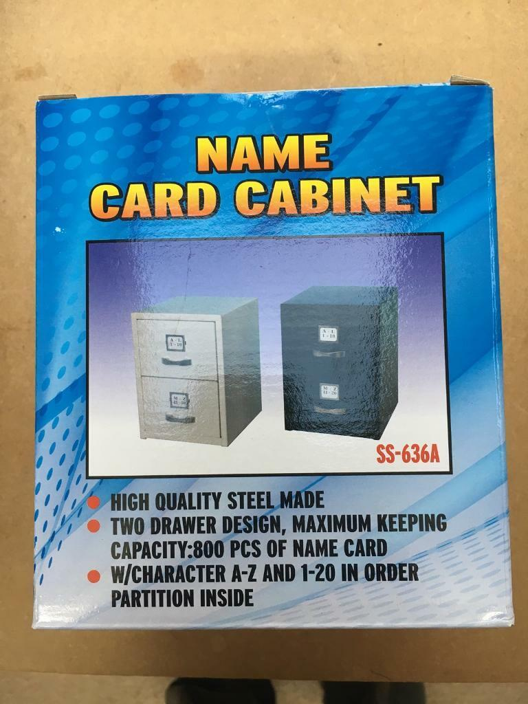 Name card cabinet
