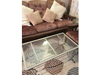 Sofa & Armchairs and coffe table - For sale