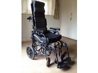 """Karma wheelchair 17"""" seat"""