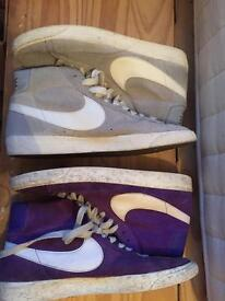 Nike blazers from size 9 to 10